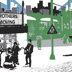 brothers album 500x385 300x300 - Brothers Moving (Self-Titled) - CD
