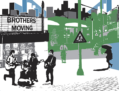 brothers album 500x385 - Brothers Moving (Self-Titled)