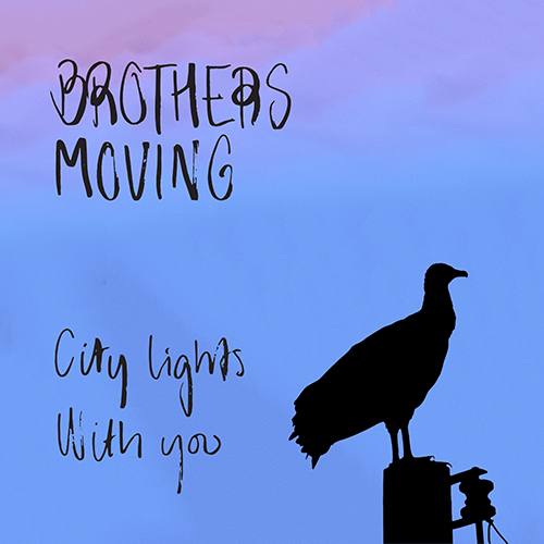 Brothers moving city lights